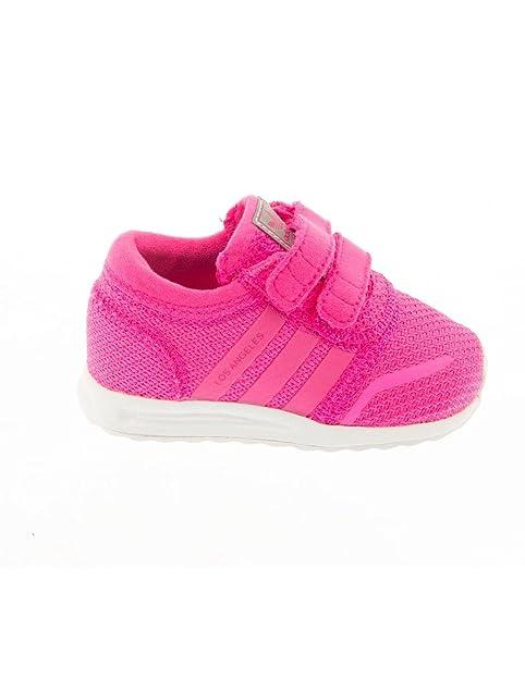 adidas Los Angeles Zapatillas Niños, Color Rosa, Talla 26.5: Amazon.es: Zapatos y complementos