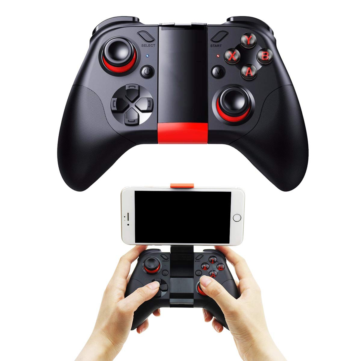 DZYXSB Bluetooth Gamepad Mobile Joypad Android Joystick Wireless VR Controller Smartphone Tablet PC Phone Smart TV Game Pad