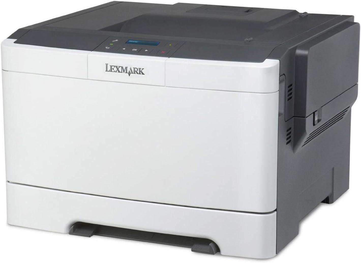 Lexmark CS317DN Color 2400 x 600DPI A4 - Impresora láser (2400 x 600 DPI, 60000 páginas por mes, Laser, 500-5000 páginas por mes, 3000 páginas, 23 ppm)