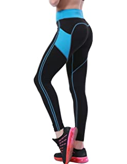 9947ad964c884 OVESPORT Women's Yoga Pants with Pockets High Waist Active Workout Leggings  for Running Sports Fitness Gym
