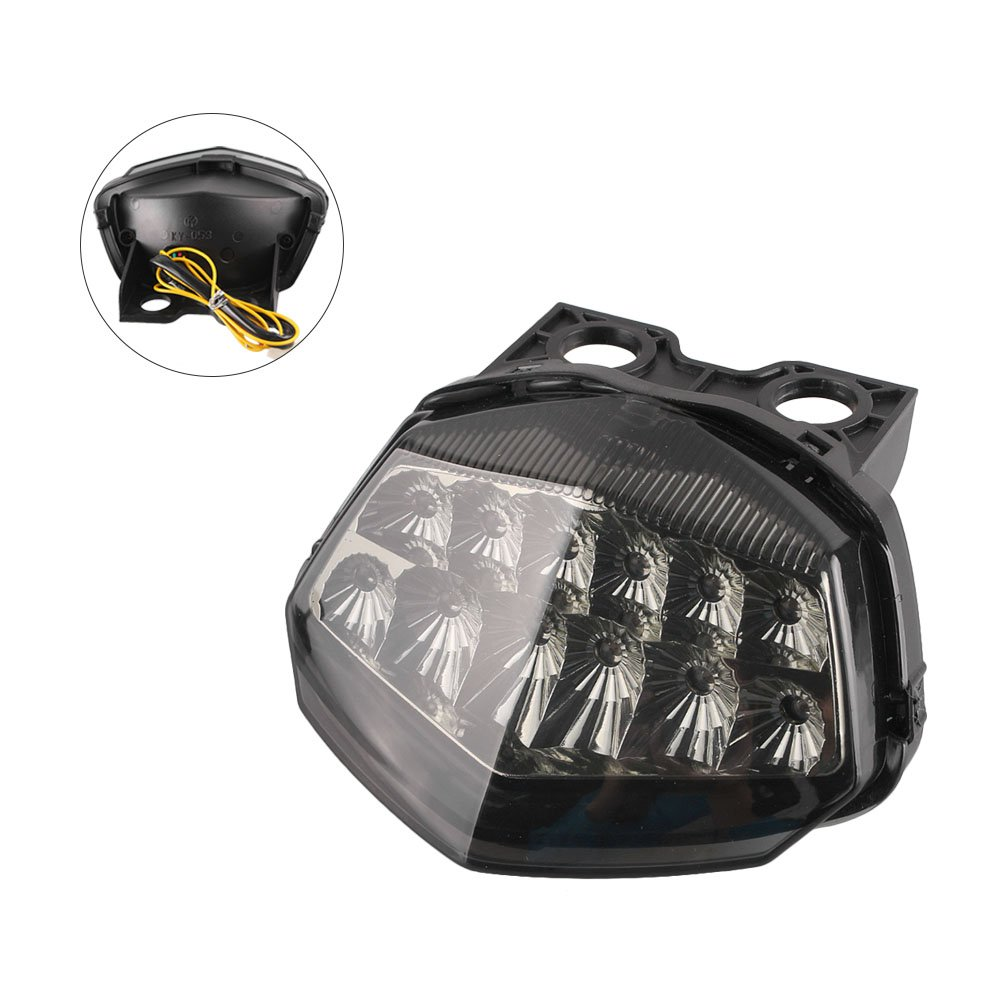 Amazon.com: Luckmart Motorcycle LED Taillight Rear Tail Turn ...