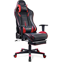 GTRACING Gaming Chair Office Chair Racing Computer Chair with Adjustable Headrest & Armrest and Lumbar Support