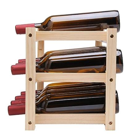 Botelleros para Vino Byjj Botellero Botellero para Vino Botellero ...
