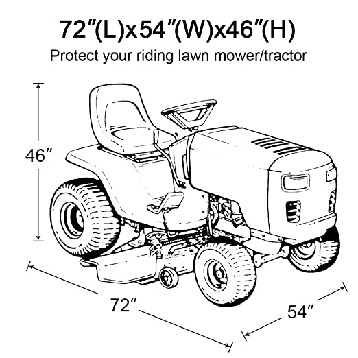 Cover For Lawn Tractor