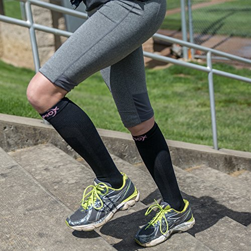 Compression Socks for Men & Women, Best Pair of Graduated Fit for Runners, Nurses, Flight, Travel, & Pregnancy. Increase Circulation, Boost Stamina, & Recovery. by Compsox (Image #6)