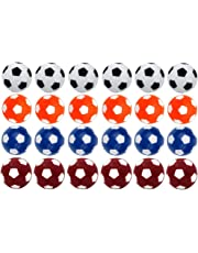 Croing - 24 PCS - Table Football Balls - Table Soccer Balls - Foosballs Replacement Balls - Colorful 36mm Tabletop Game Balls