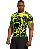 Under Armour Mens Beast Compression Shirt Large High-Vis Yellow