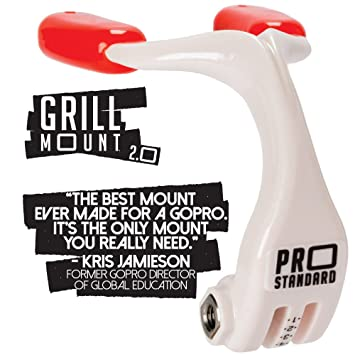 Amazon.com: Pro Standard Grill Mount Mouth Mount para GoPro ...