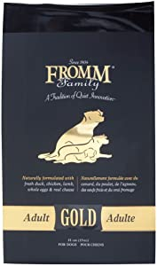 Fromm Family Foods 727520 Gold Nutritionals Adult 33 Lb Dry Dog Food (1 Pack), One Size