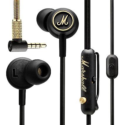 Marshall-Mode EQ Earphones In-Ear-Kopfhöre - Black/Brass