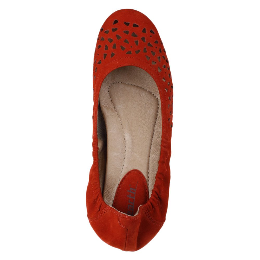 Earth Women's Breeze Ballet Flat Red B013JNDIT4 11 B(M) US Bright Red Flat 9ed6ea