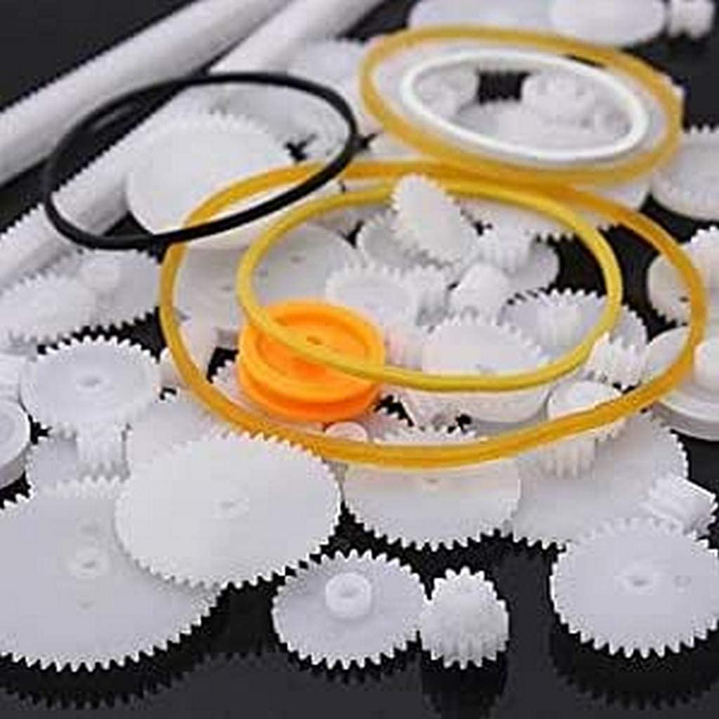Yunique Espana BY-AK24-11DL 60 Piezas Paquete Different Gear Engranajes para la robótica (Kit de Engranajes 60 Piecas)