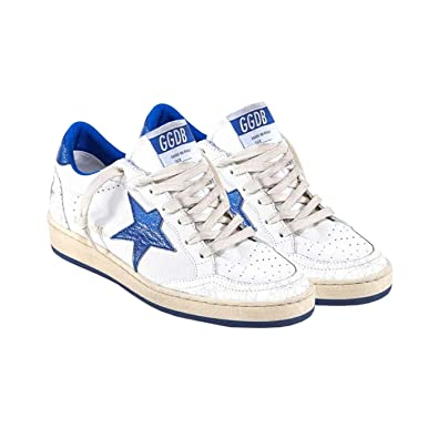 f8f520d0f4d71 Amazon.com | Golden Goose Deluxe Brand Ball Star White Blue Women ...