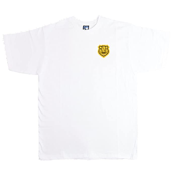 Old School Football - Camiseta Deportiva - para Hombre Blanco Blanco X-Large