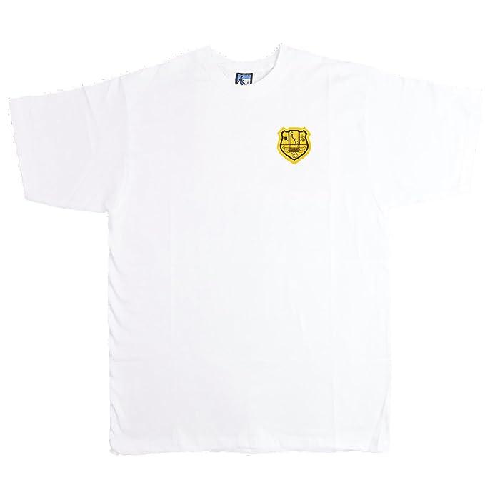 Old School Football - Camiseta Deportiva - para Hombre Blanco Blanco X-Large