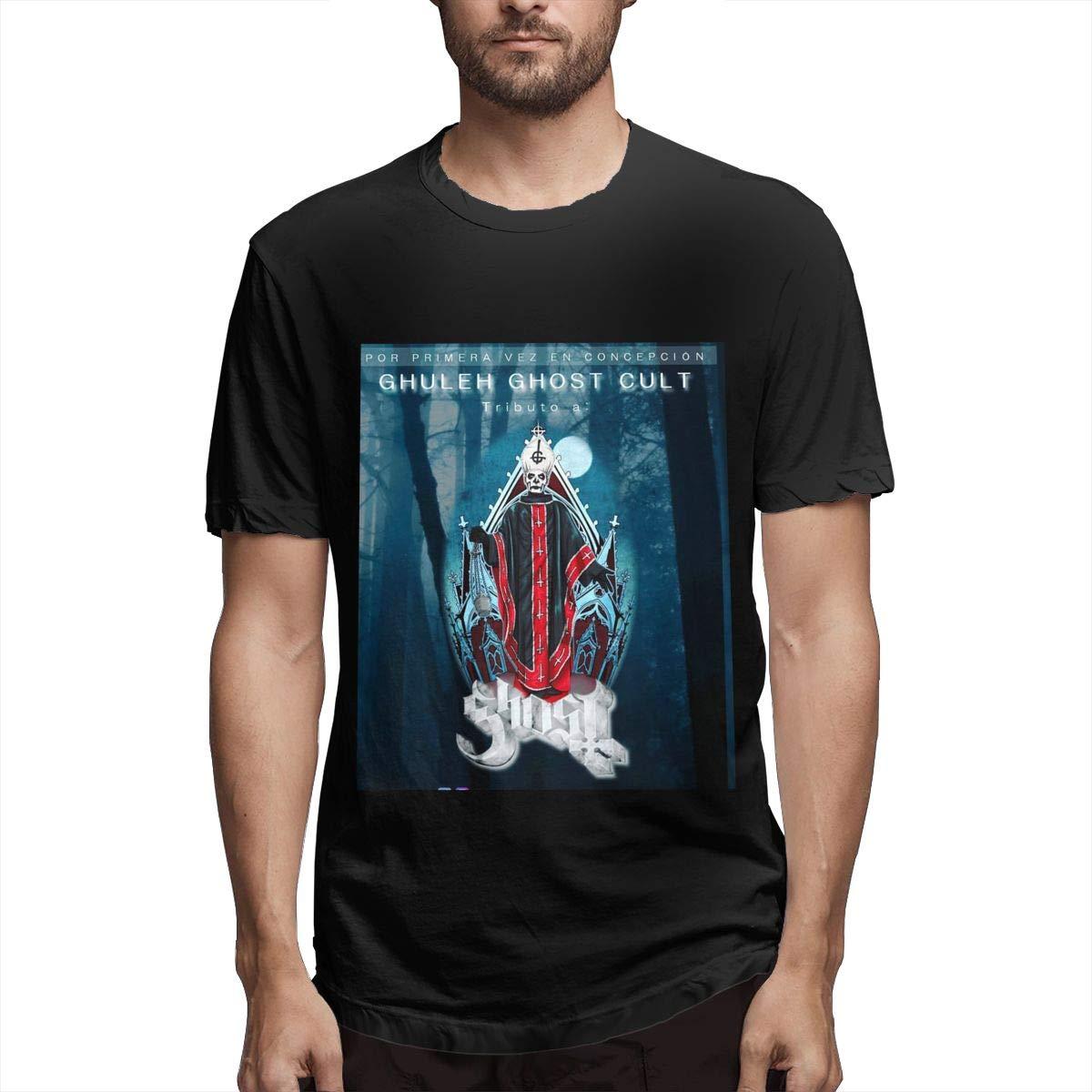 Lihehen Mans Cult Ghost Round Neck Shirts