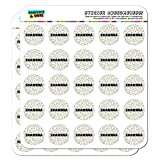 Shawnna - Name Planner Calendar Scrapbooking Crafting Stickers - Multicolored Speckles - 50 1