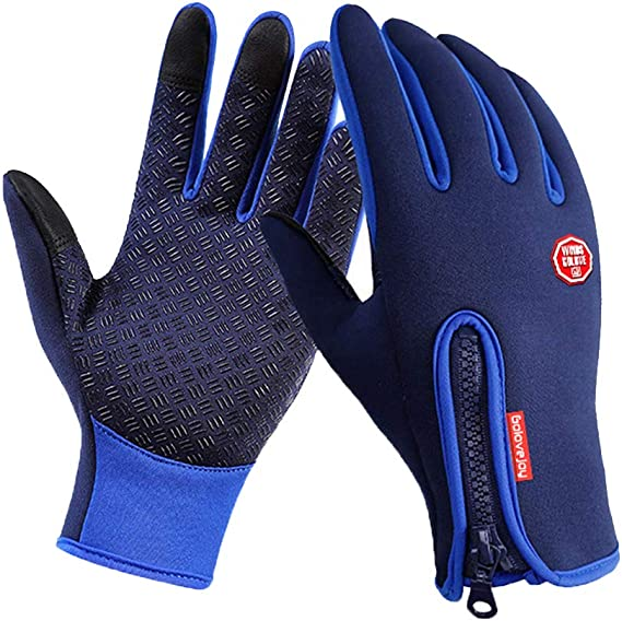 Outdoor Winter Touchscreen Waterproof Warm Full Finger Bike Gloves Winter Cycling Gloves Road Moutain Bike Bicycle Gloves