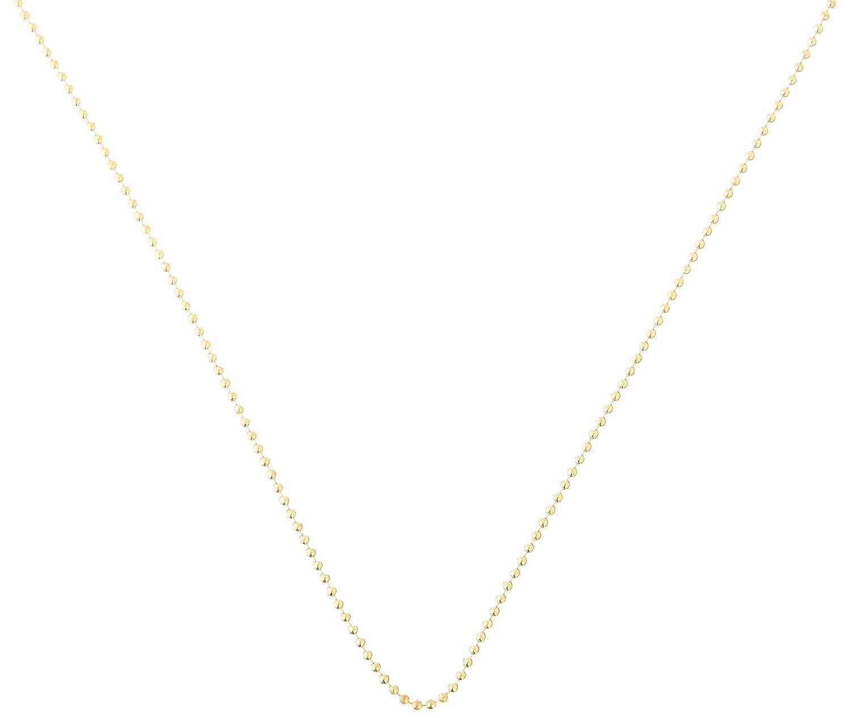 Ball Chain 2.4mmx24 2 Pkg Gold Plated