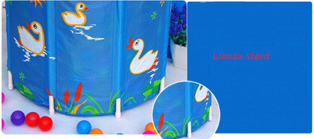JPYG Inflatable Bathtub,Child Collapsible Bathbarrel Household Keepwarm Plastic Bathtub Portable (Color : #2) by JP bathtub (Image #3)