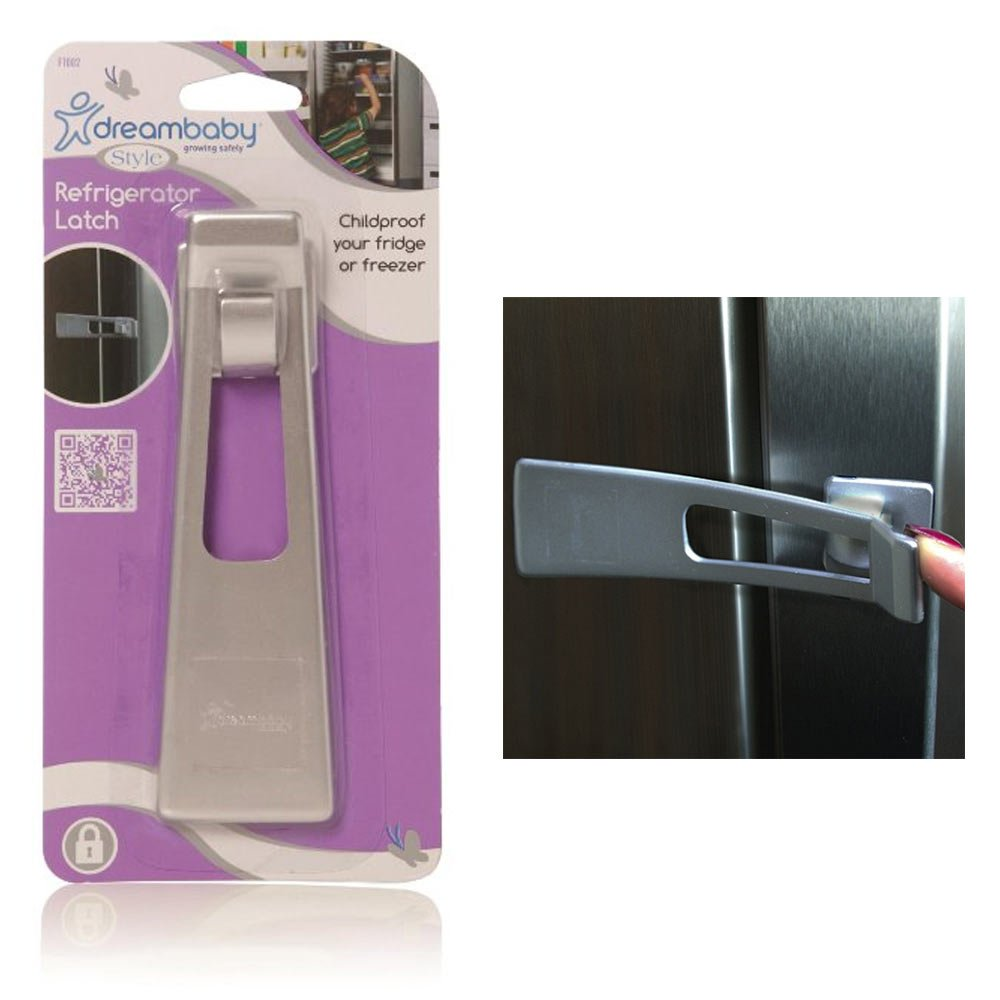 Dreambaby Refrigerator Appliance Latch Childproof Freeze Baby Proofing Safety !!