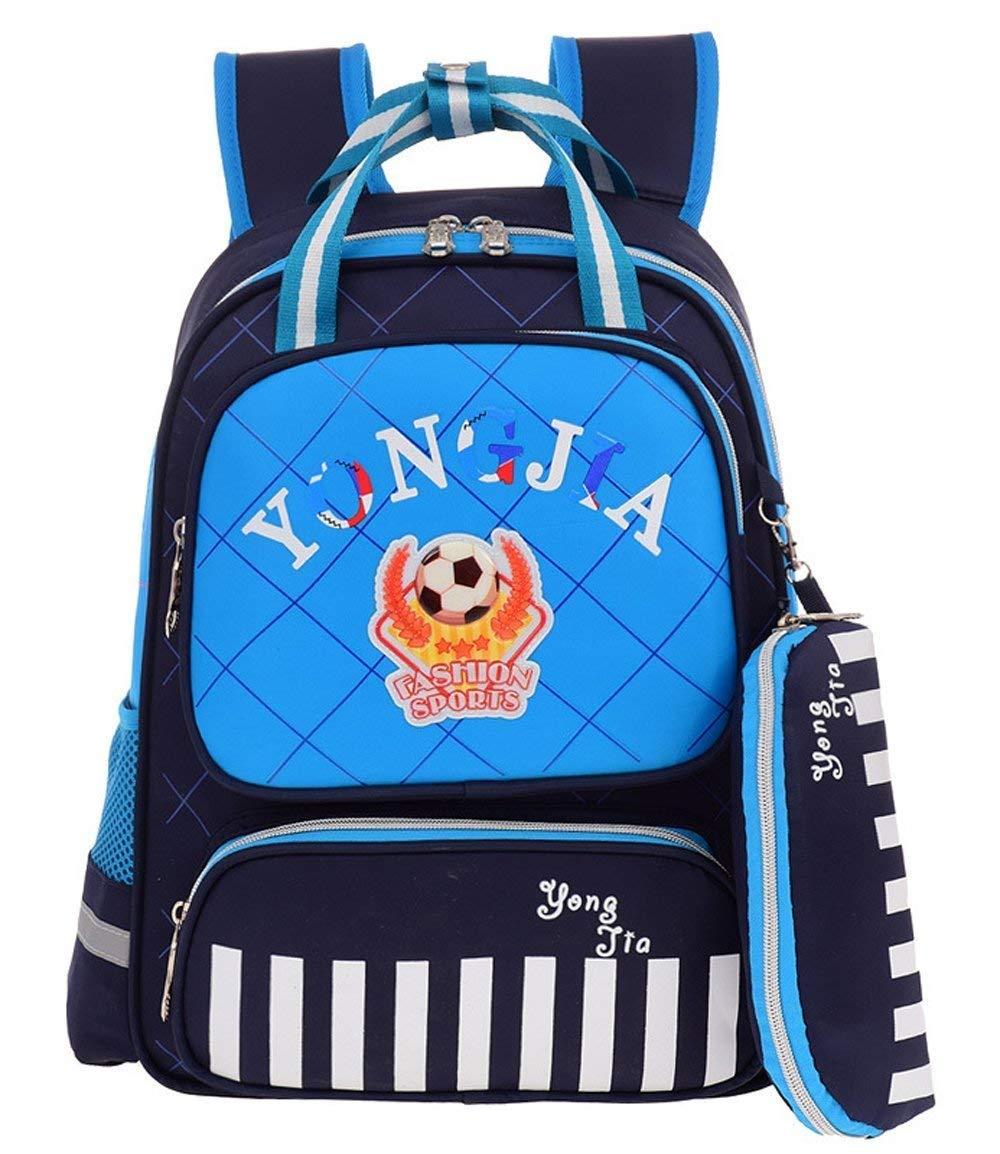 Pureed Kinder Felice Kindergarten Unisex Karikatur Kinder Mini Schulrucksack Babyrucksack Backpack Schultasche Aussehen 2-7 Tier Jahre Dchen Männer Jungen (Farbe   Royal Blau, Größe   One Größe)