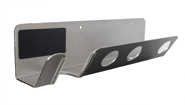 Doubleblack Soporte de Pared para Secador de Pelo para Dyson Supersonic Boquillas Difusor Organizador Plata