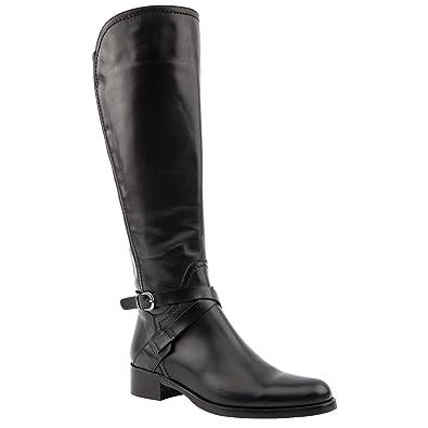 32e28fc5540559 Ladies Jones Bootmaker Pari-Wide Black Knee Length Boots Size 9 ...