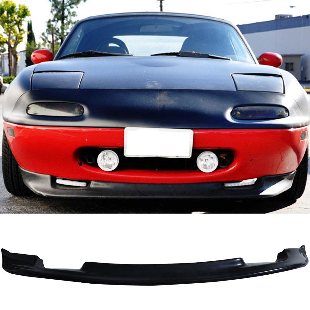 Amazon.com: 90-97 Mazda Miata 2 Door MX5 MX-5 Poly Urethane Add-On Front  Bumper Lip Spoiler GV Type: Automotive