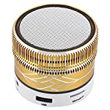 Wireless Bluetooth Speaker Colors Changing Speaker with Aux FM Mode TF Card Slot Desktop Mini Speakers Stereo Music for Android Samsung Galaxy S9 S8 S8 Plus S7 S6 S5 LG Nexus 6 5 HTC Huawei iPhone 8 X