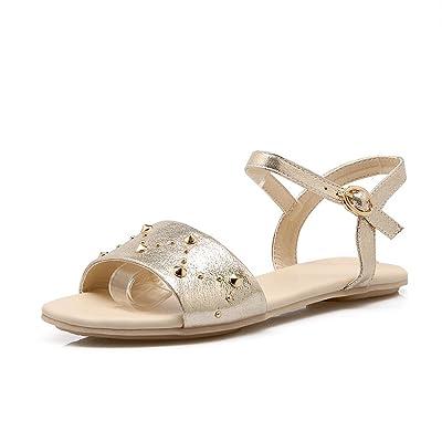 Tipo Remache Sandalias Zapatos Antiresbaladiza Mujer De Planas Yb6m7fgIvy