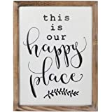 SANY DAYO HOME Wall Decor Signs with Inspirational Quotes 12 x 16 inches Rustic Wood Framed Modern Farmhouse Wall…