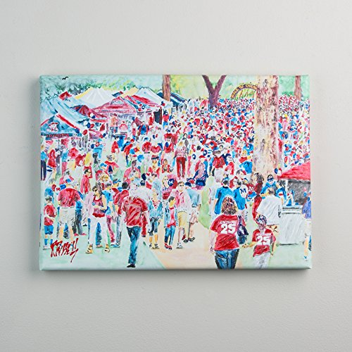 Glory Haus 41070915 Ole Miss The Grove Canvas Multicolor