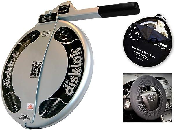 Protection pour airbag Canne antivol volant Disklok S 390 jaune Diam/ètre du volant: 35-38,5 cm