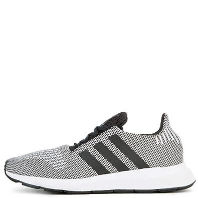 4b7098e7 adidas Originals Men's Swift Running Shoes (7.5 D(M) US, Black/