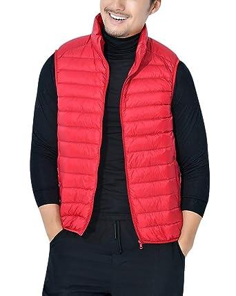 Lannister Fashion Leicht Daunenweste Herren Weste Steppweste