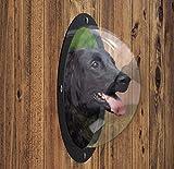 FurryFriends Pet Window - Acrylic Dog Window/Peep Hole for Door or Gate