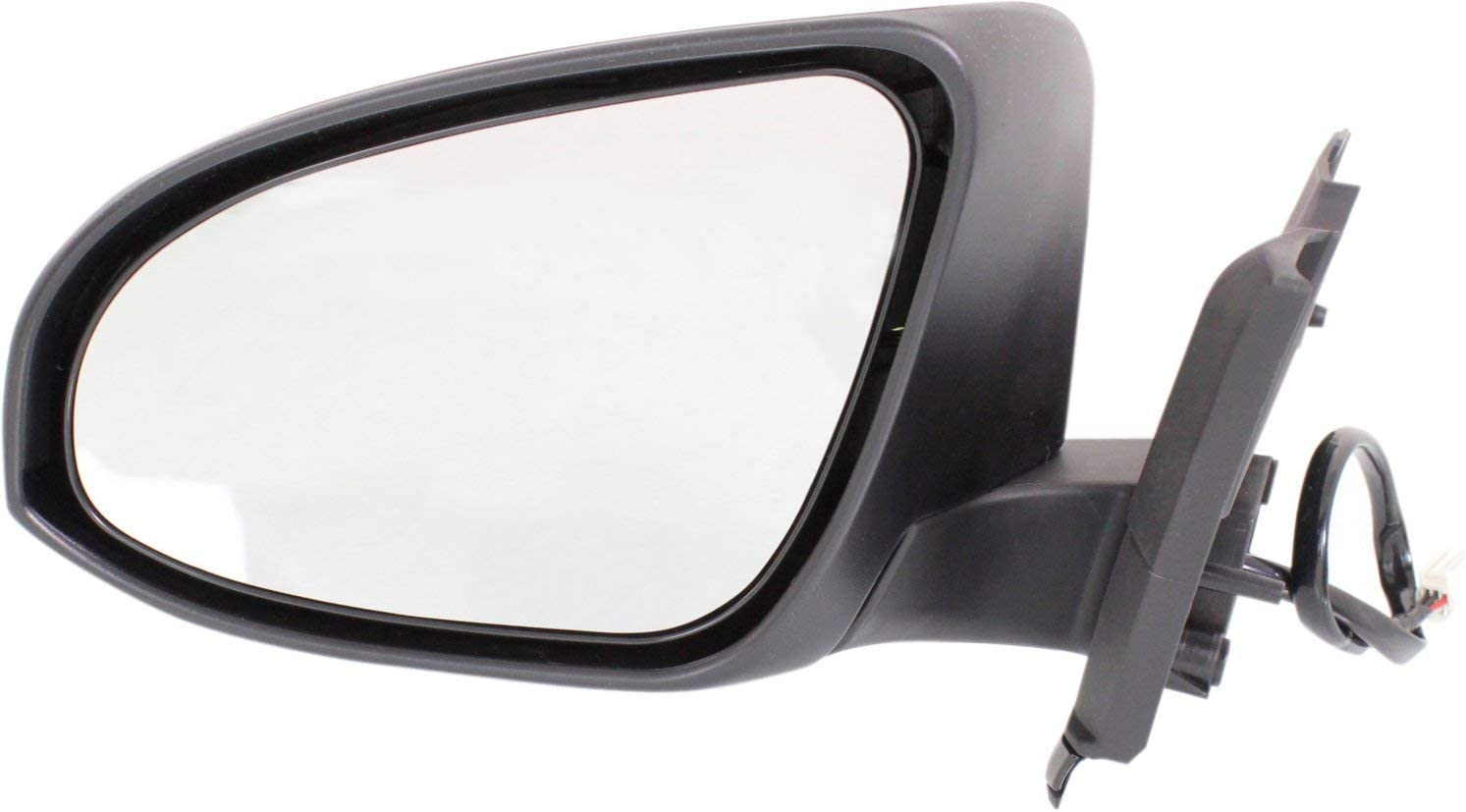 Parts Link # Left Driver Side Unpainted Heated Power Operated with Signal Side View Mirror for 2014-2015 Kia Optima KI1320175
