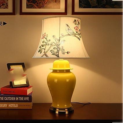 Wysm Lámpara de mesa de Cobre de cerámica 40 * 65 cm ...