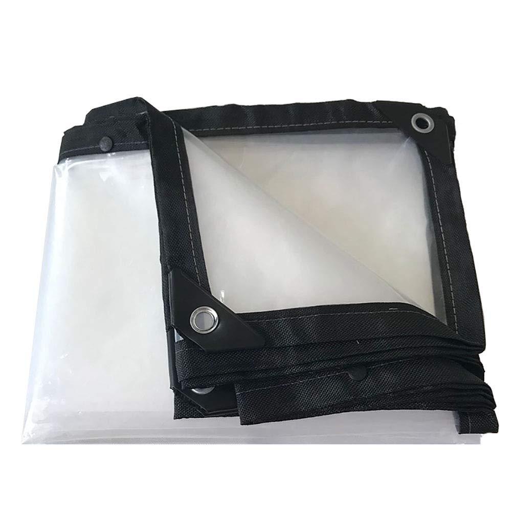 QRFDIAN imprägniern Transparenter Poncho imprägniern QRFDIAN Gepolsterten Plastikstoffbalkonfensterregenverteilungsbetriebsblume im Freienisolierung Gewächshausfilm 88e479