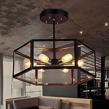 DEE Luminaires   Plafonniers De Salon Lumières Européennes Dimmable LED Cuisine  Américaine Rétro Pendant Une Réception