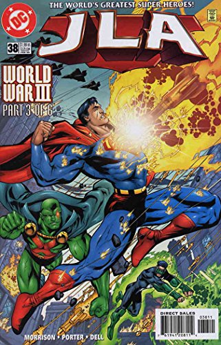 - JLA #38 VF/NM ; DC comic book