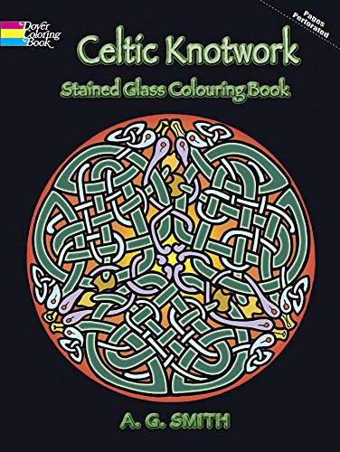 Celtic Knotwork Stained Glass Colouring Book (Dover Design Stained Glass Coloring Book) for $<!--$5.00-->