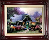 Weathervane Hutch Thomas Kinkade 9'' x 12'' Standard Numbered Framed Limited Edition Canvas Painting Artwork