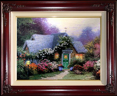 Weathervane Hutch Thomas Kinkade 9'' x 12'' Standard Numbered Framed Limited Edition Canvas Painting Artwork by Thomas Kinkade Weathervane Hutch