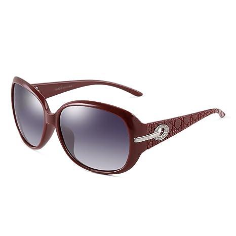 LQQAZY Corrientes Polarizadas Gafas De Sol Mujer Moda ...