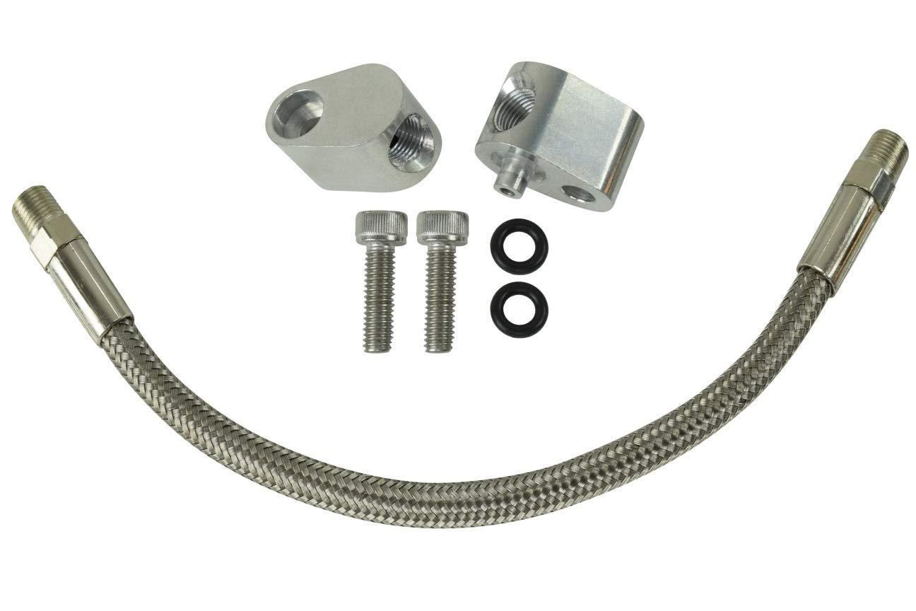 Ls Throttle Body Bypass Hose Kit Coolant Crossover Ls1 Gm Engine Cooling Diagram Lsx 551694h Automotive