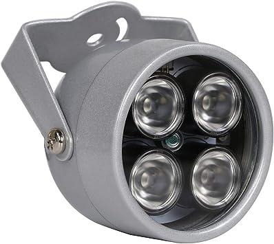 Opinión sobre YMAO 4-LED nocturna por infrarrojos CCTV IR Visión iluminador de luz para cámara de visión nocturna de seguridad