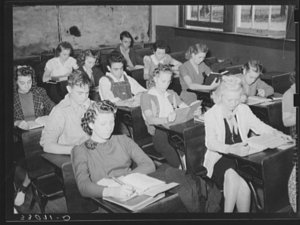 High school students. San Augustine, Texas