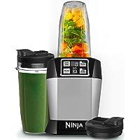 Nutri Ninja Küchenmaschine mit 1000W Kraft und Auto-iQ - BL480EU
